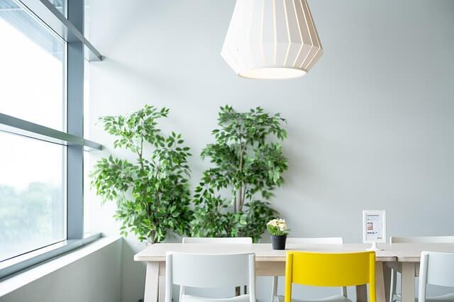 עיצוב הבית צמחיה מלאכותית
